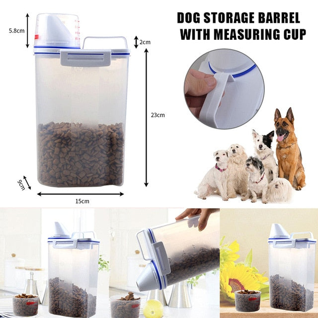 Pet Food Storage Container - exploreyourfashion
