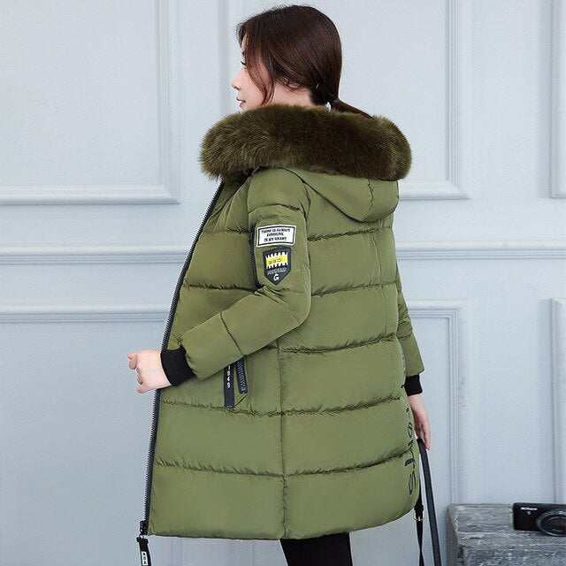 Thickening Cotton Winter Jacket - exploreyourfashion