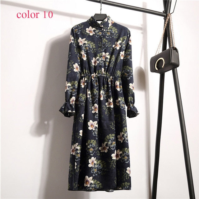 Full Sleeve Elastic Waist Vintage Dress | Fashion is an Art I have always loved fashion because it's great way to express who you are so girls follow me and Explore Your Fashion .
