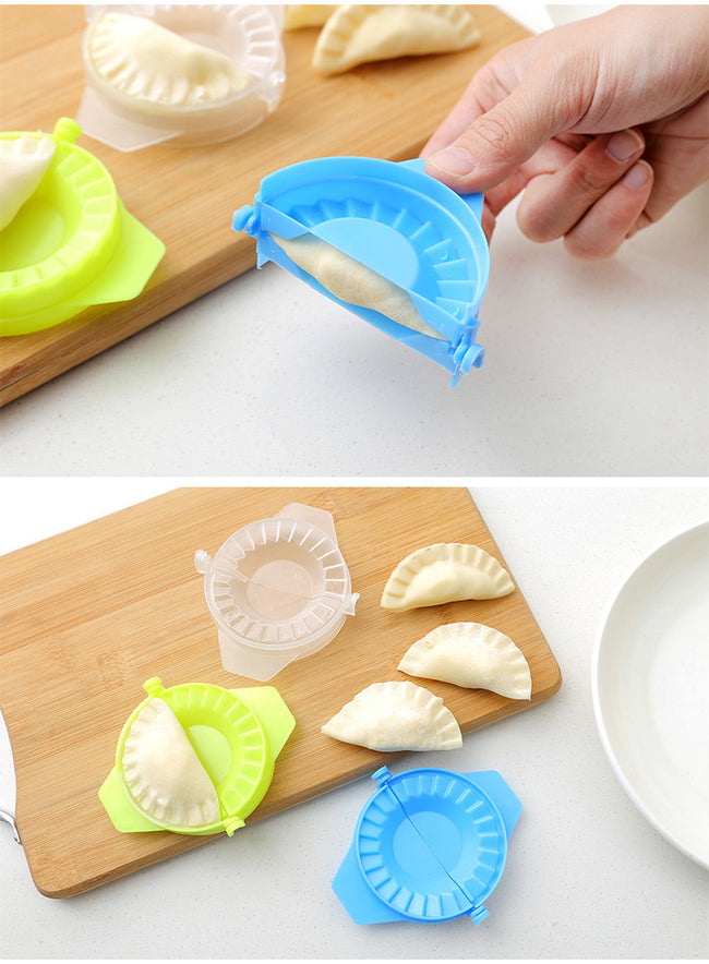 DI Jiaozi Maker Device Easy Dumpling Mold Clips