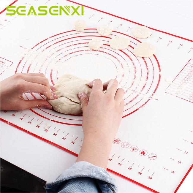 Silicone Baking Mats Sheet Pizza Dough Non-Stick Maker