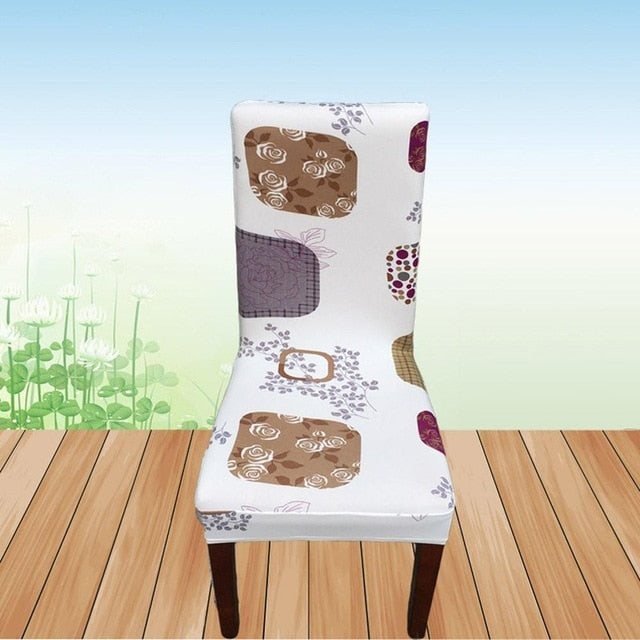 Removable Chair Cover Big Elastic Slipcover