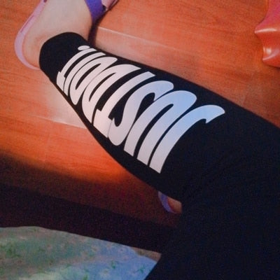Cotton Striped Fitness High Waist Leggings 2019 | Fashion is an Art.  I have always loved fashion because it's great way to express who you are so girls follow me and Explore Your Fashion