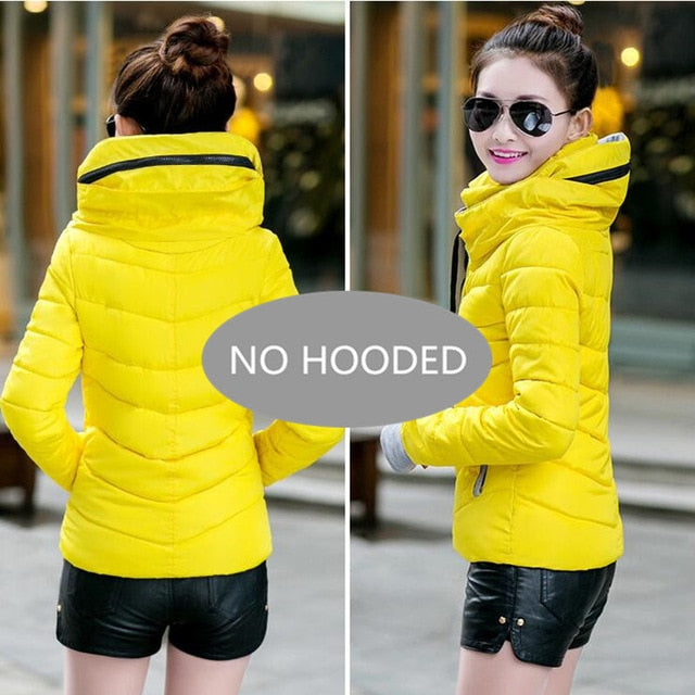 winter jacket short cotton padded