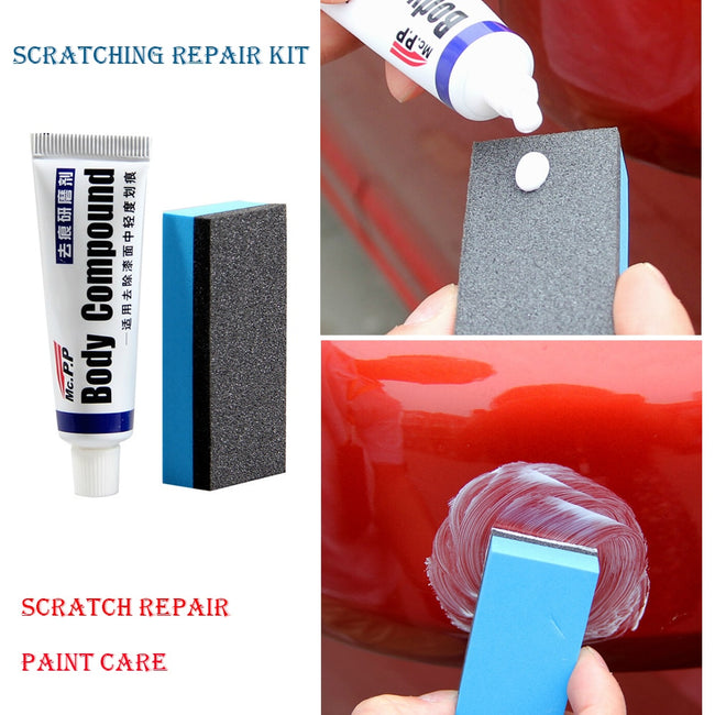 CAR POLISHING & SCRATCH REMOVING SET