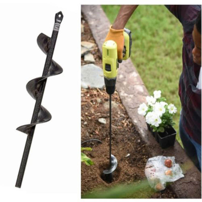 PLANTING SPIRAL DRILL & GRASS AUGER - exploreyourfashion