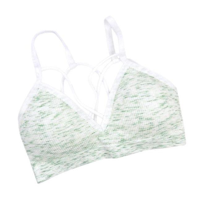 SOFT CUP SPORTS BRA - exploreyourfashion