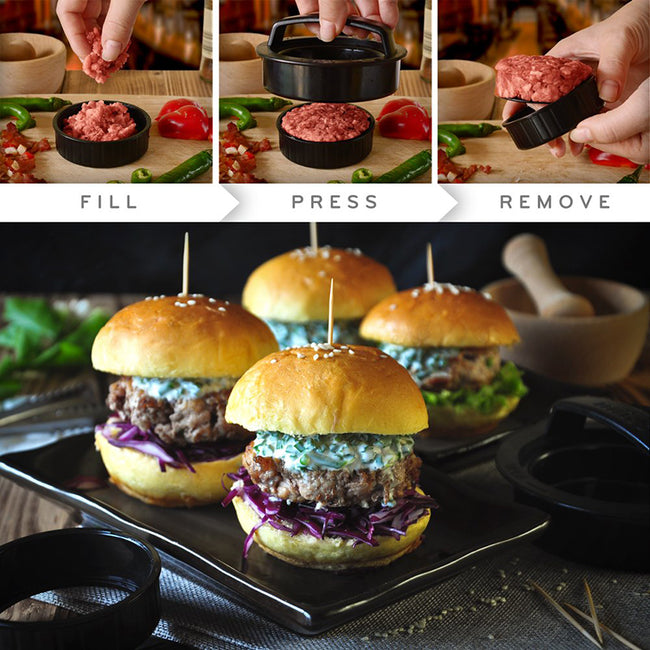 Round Shape BURGER PRESS