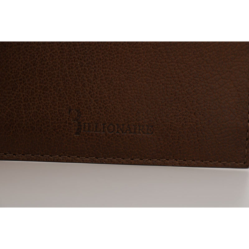 Brown Leather Cardholder Wallet