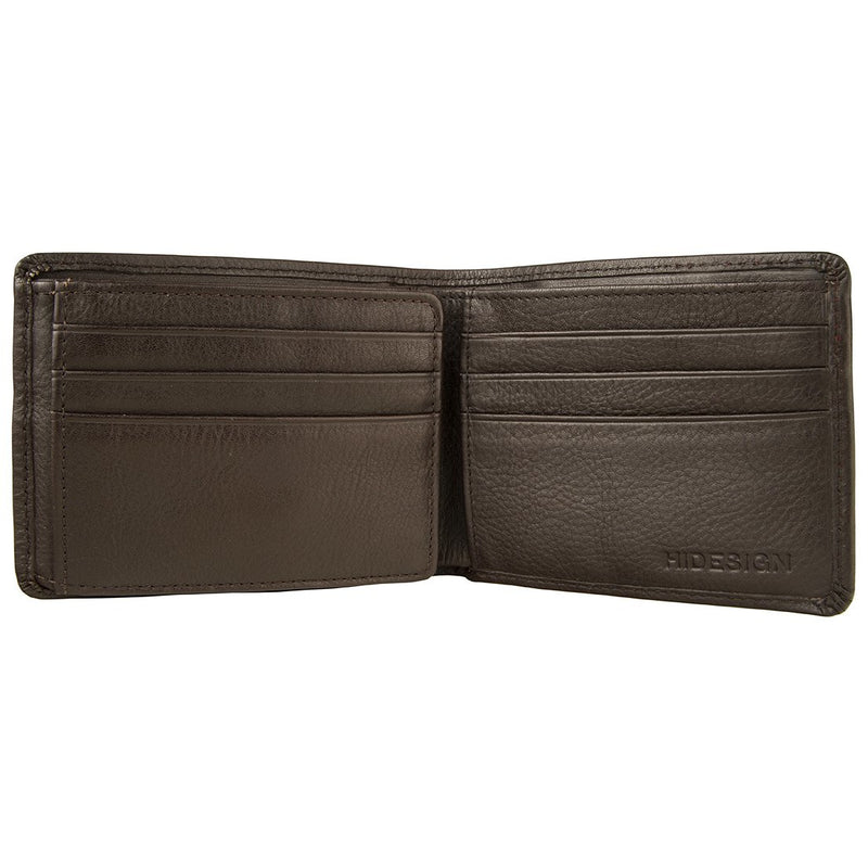 Hidesign Angle Stitch Leather Wallet - Heelscape