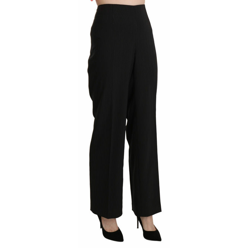 Black Formal Dress Trouser Polyester  Pants