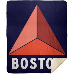 Boston Fenway Sherpa Fleece Blanket