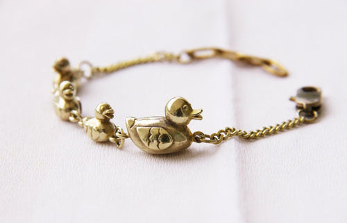 Make Way For Ducklings Charm Bracelet