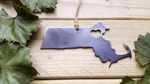 Massachusetts State Ornament