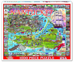 Nantucket 1000 Piece Jigsaw Puzzle