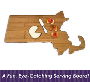 Massachusetts Bamboo Cutting Board