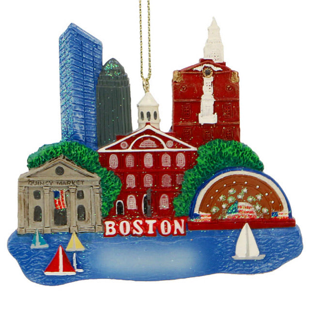 Boston Landmarks Ornament