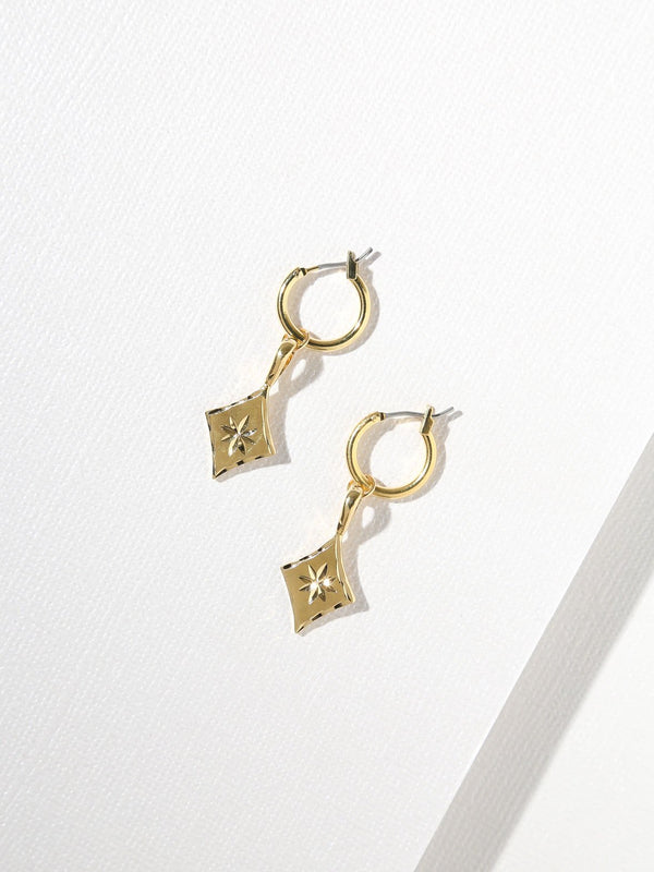 THE LUCIA DIAMOND EARRINGS