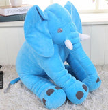 Nelly The Naptime Elephant Pillow
