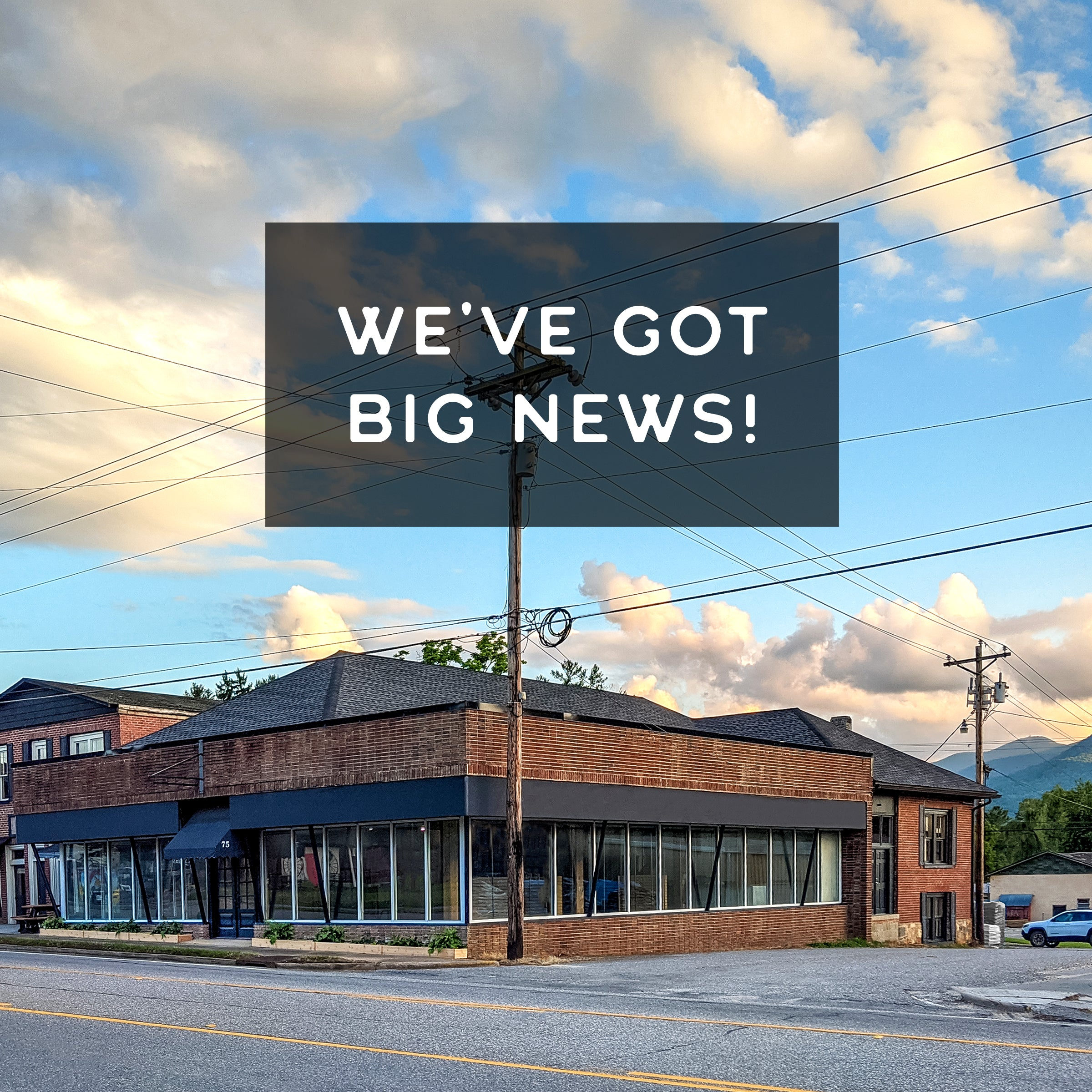 Trailful is moving to 75 North Main Street in Hiawassee, GA