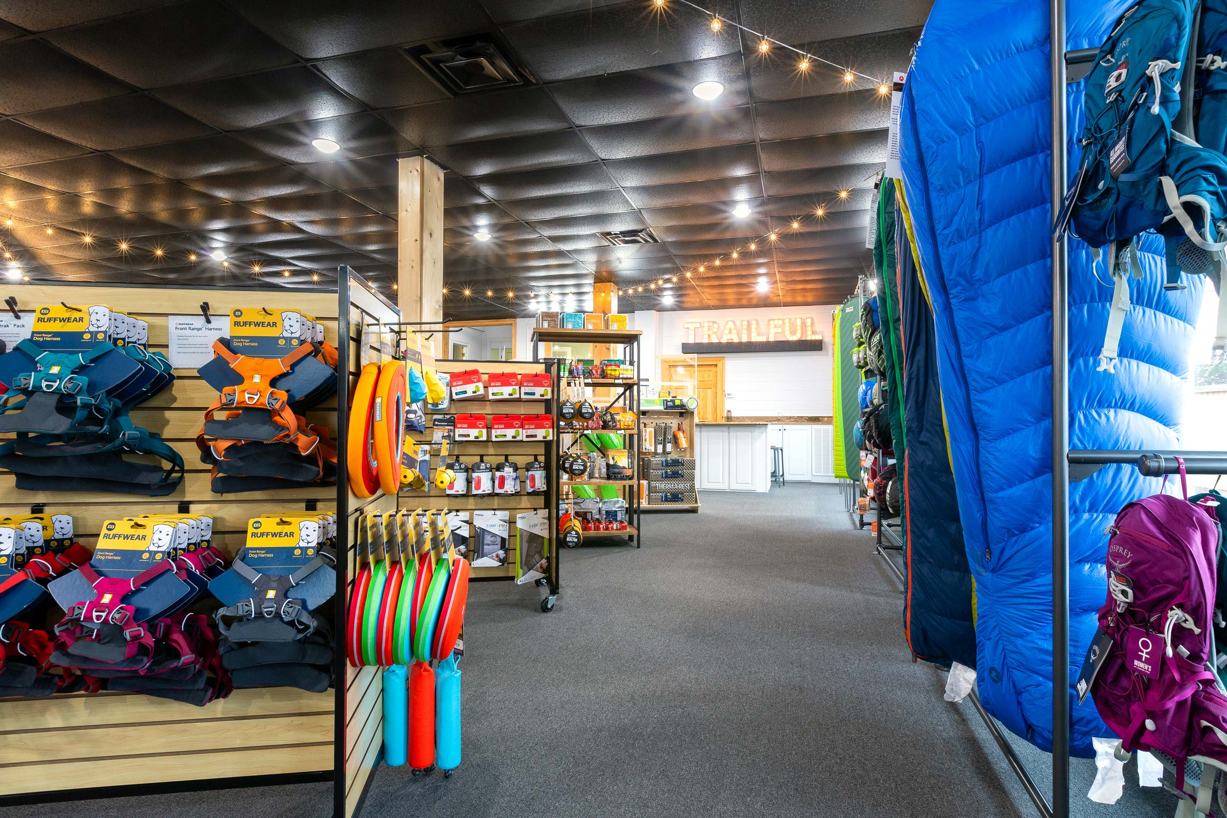 Trailful Outdoor Co is a hiking outfitter shop in the North Georgia mountains that stocks the top day hike and backpacking gear and apparel