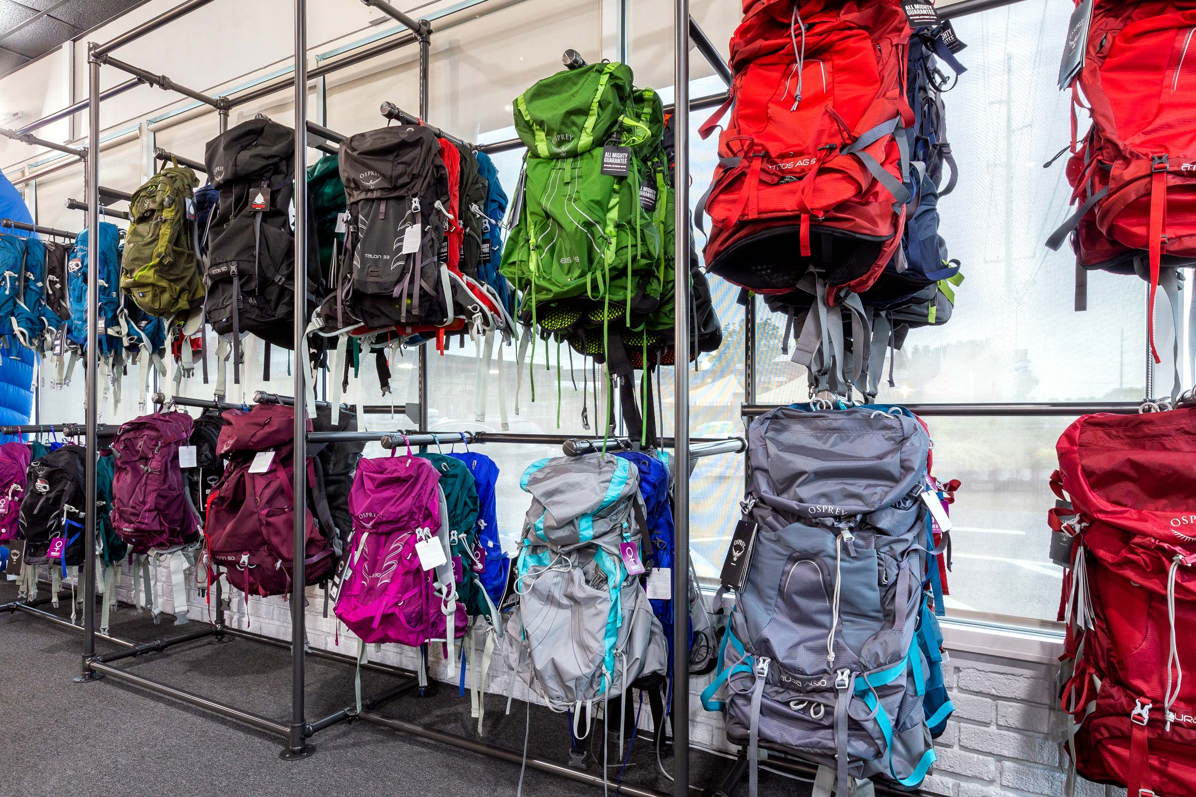 Trailful Outdoor Co is an authorized Osprey Packs dealer with a selection of top backpacks and day packs in stock