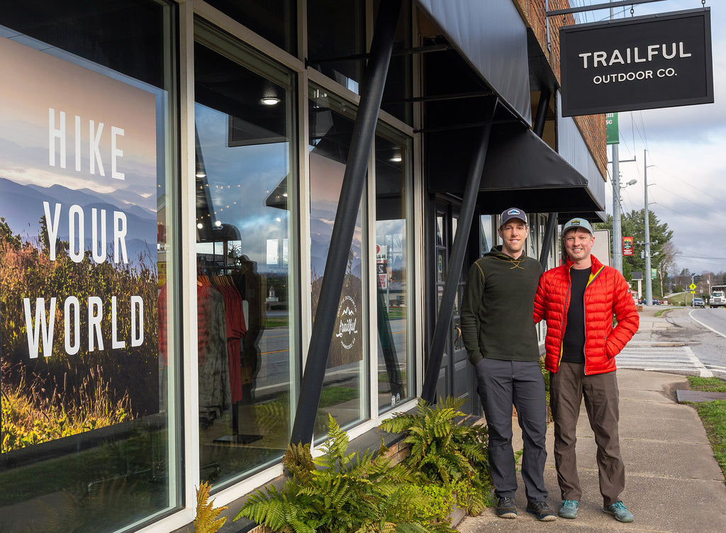 Trailful Outdoor Co owners Eric Champlin and Rob Sollie
