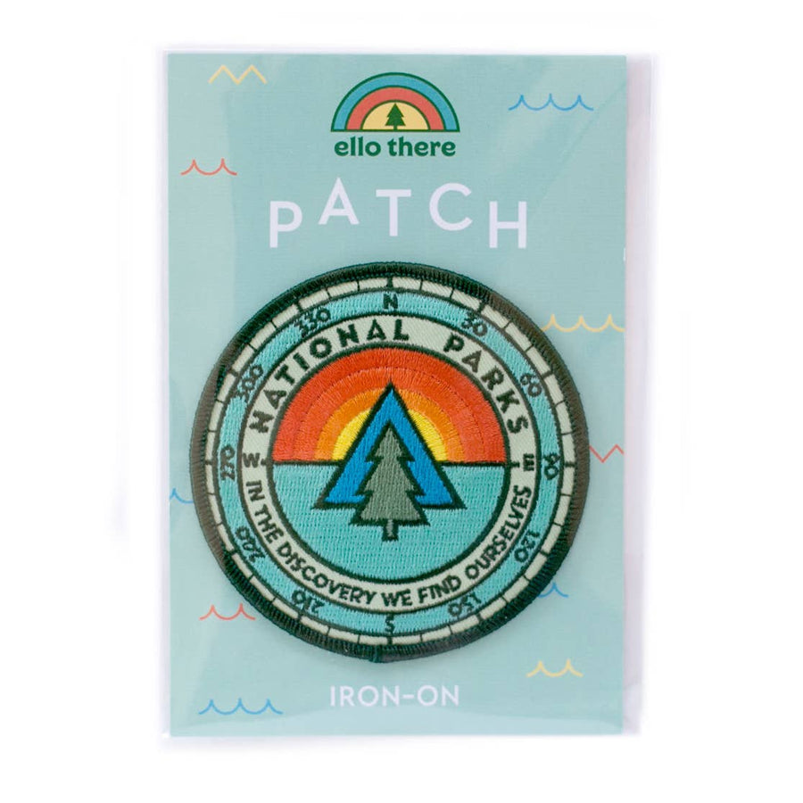 National Parks Iron-On Patch