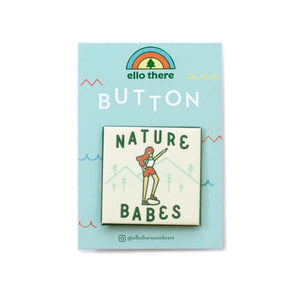 Nature Babes Button