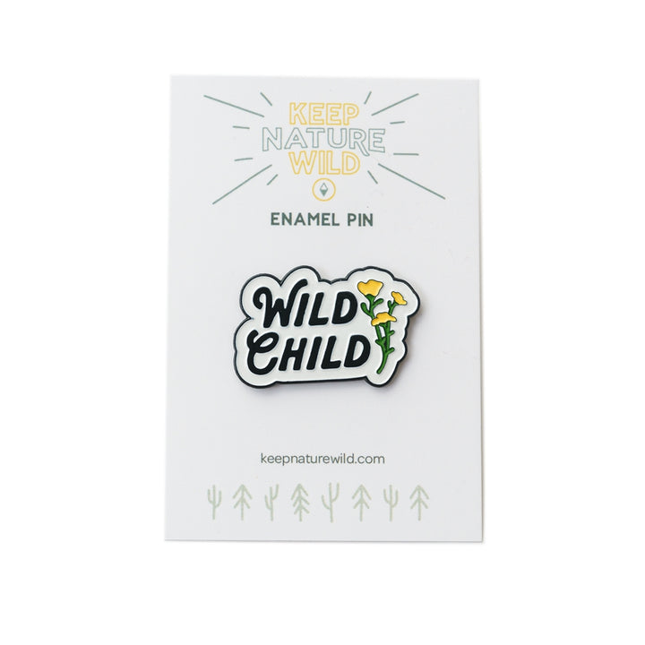 Wild Child Enamel Pin