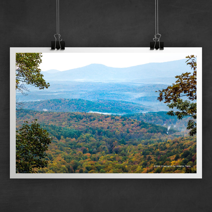 Amicalola Falls #2 Photo Art Print