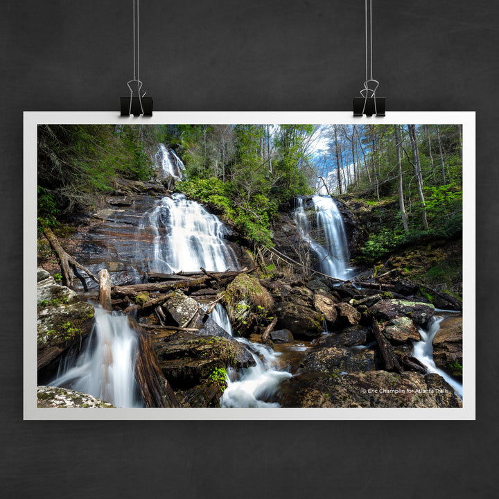 Anna Ruby Falls Photo Art Print