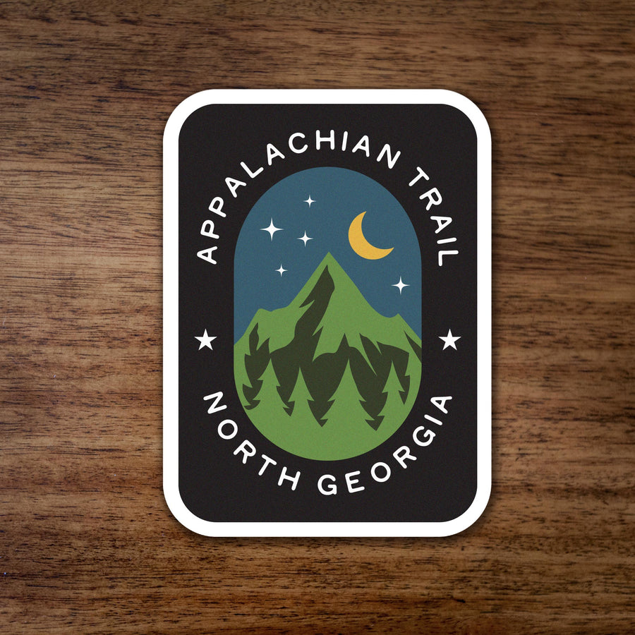 Appalachian Trail North Georgia Sticker