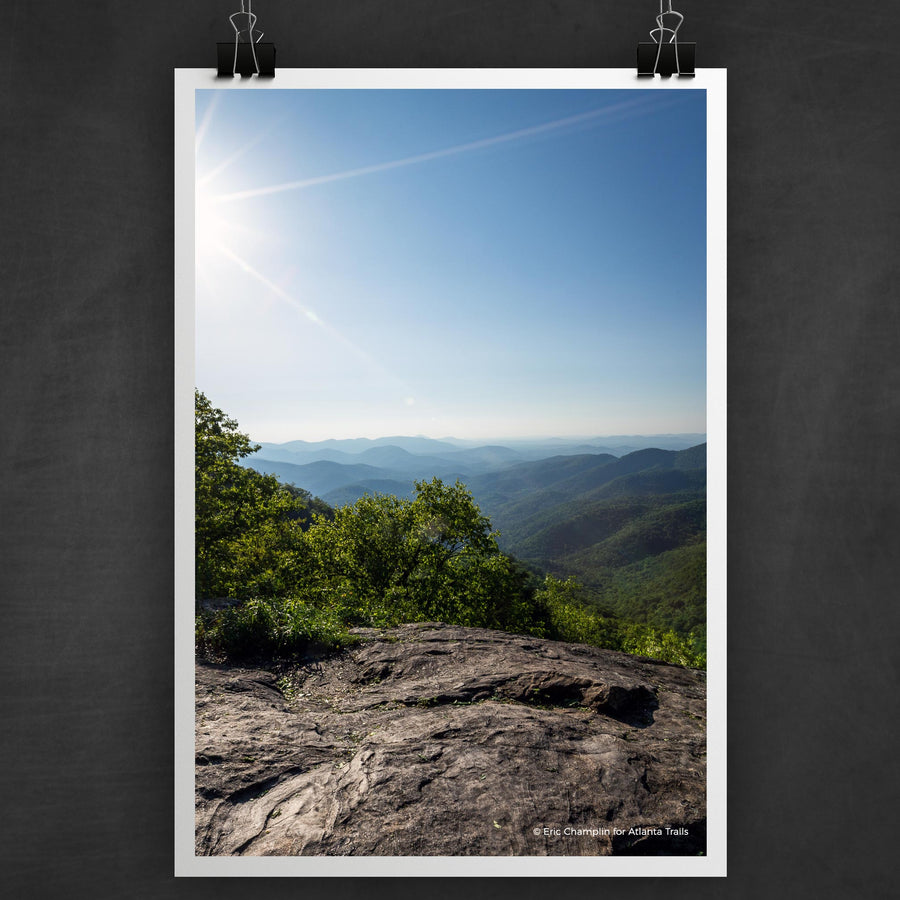 Preachers Rock on the Appalachian Trail Photo Art Print