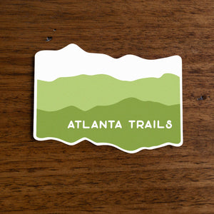 Atlanta Trails Appalachian Sticker