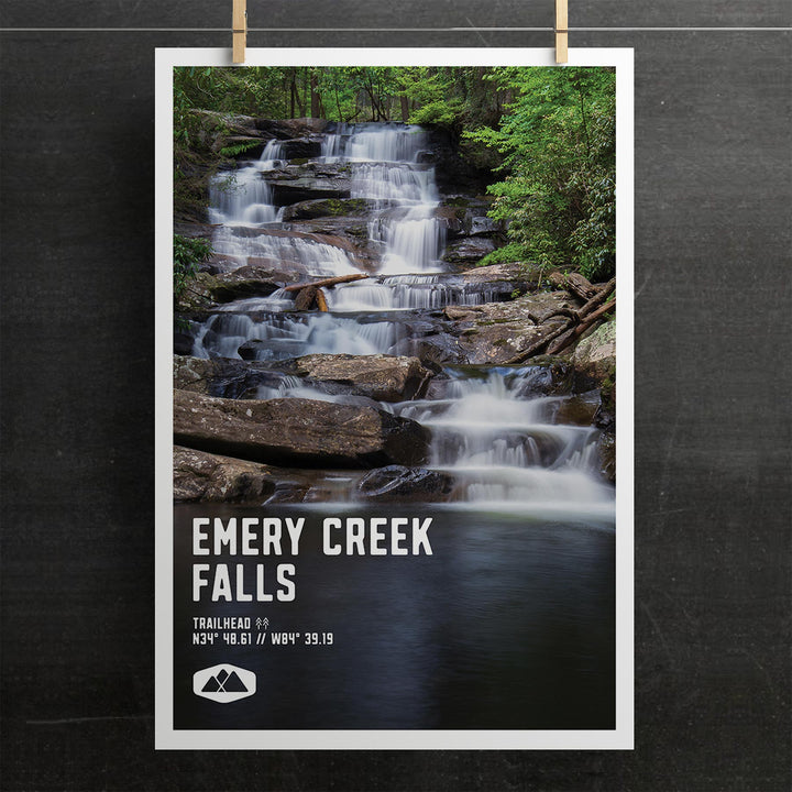 Emery Creek Falls Poster