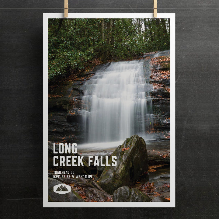 Long Creek Falls Poster
