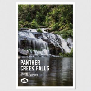 Panther Creek Falls Poster