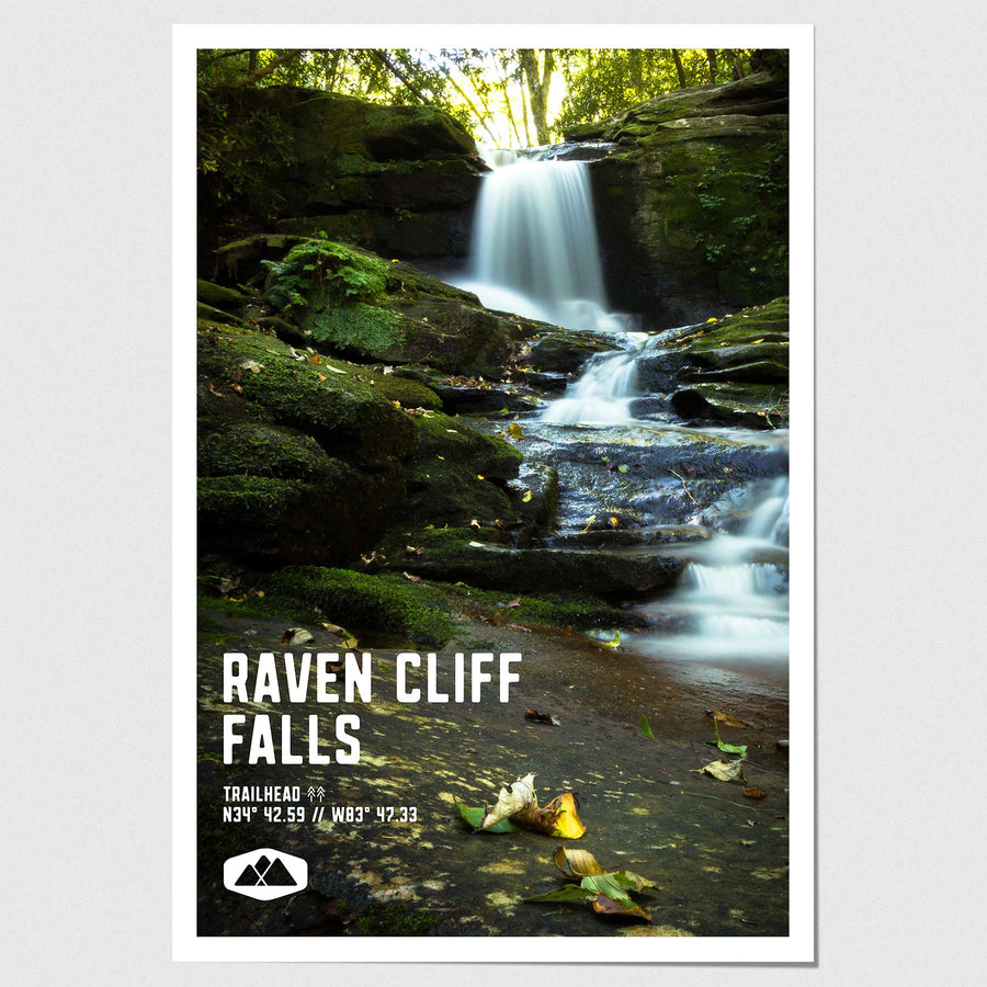 Raven Cliff Falls Poster