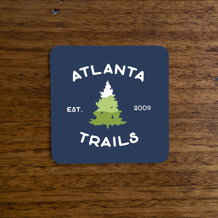Atlanta Trails Southern Pine Sticker