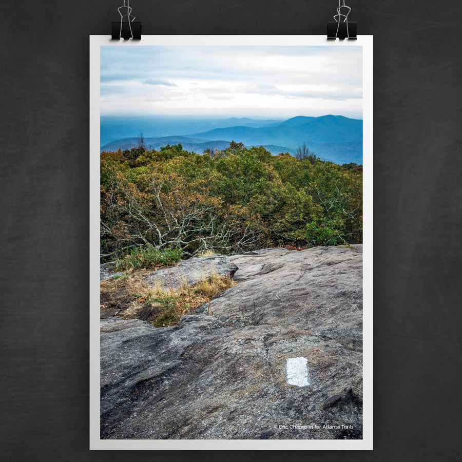Blood Mountain #2 Photo Art Print