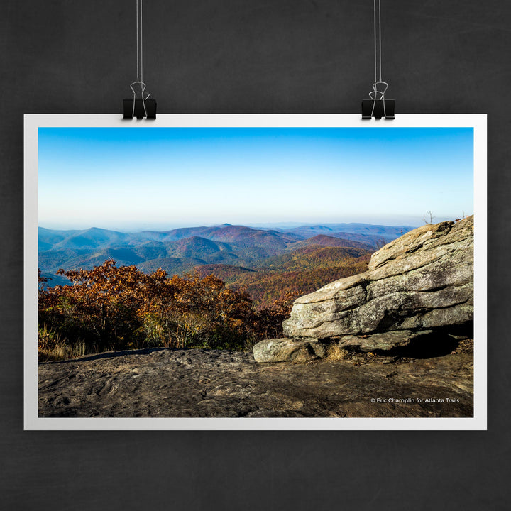 Blood Mountain Photo Art Print