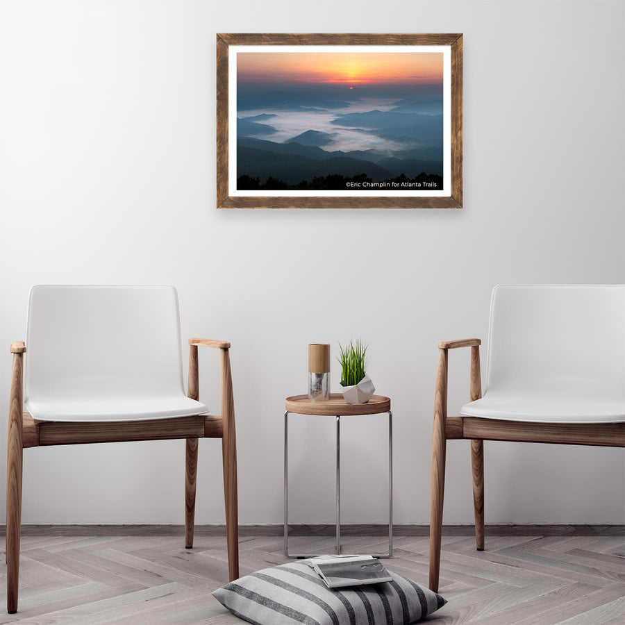Brasstown Bald Photo Art Print