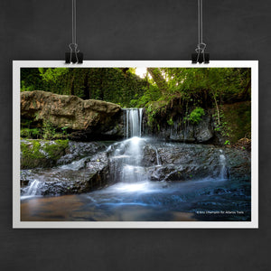 Cascade Springs Photo Art Print
