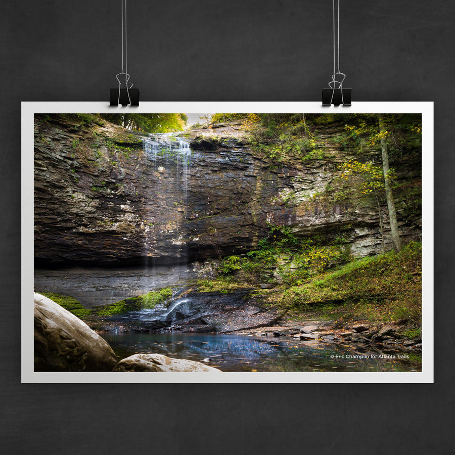 Cloudland Canyon Waterfall #2 Photo Art Print