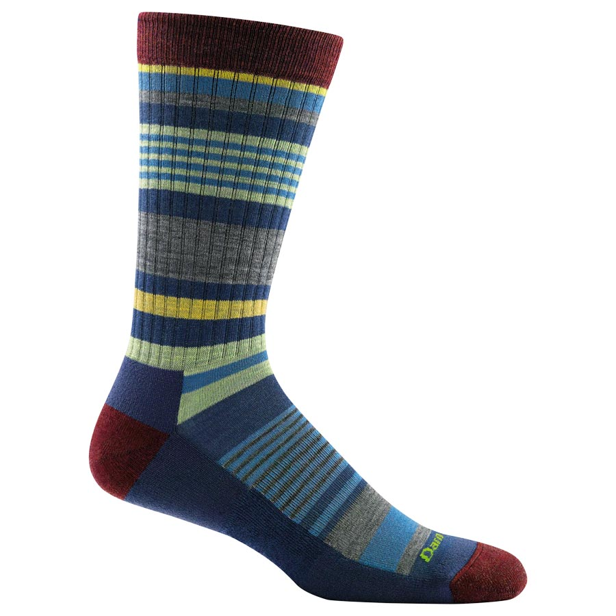Darn Tough Socks - 1696 - Men's Unstandard Stripe Crew Lightweight Lifestyle Sock