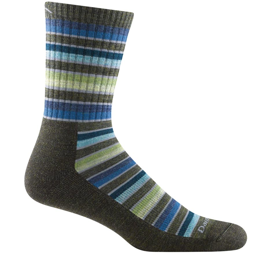 Darn Tough Socks - 1992 - Men's Decade Stripe Micro Crew Midweight Hiking Sock