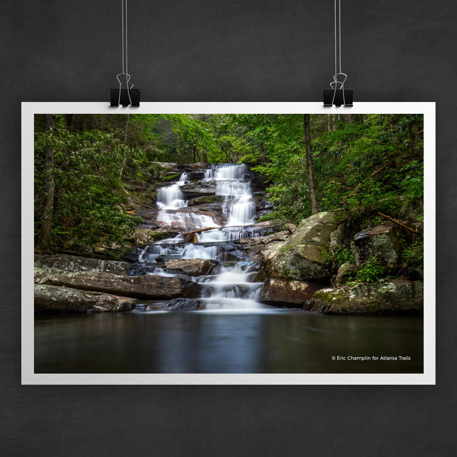 Emery Creek Falls Photo Art Print