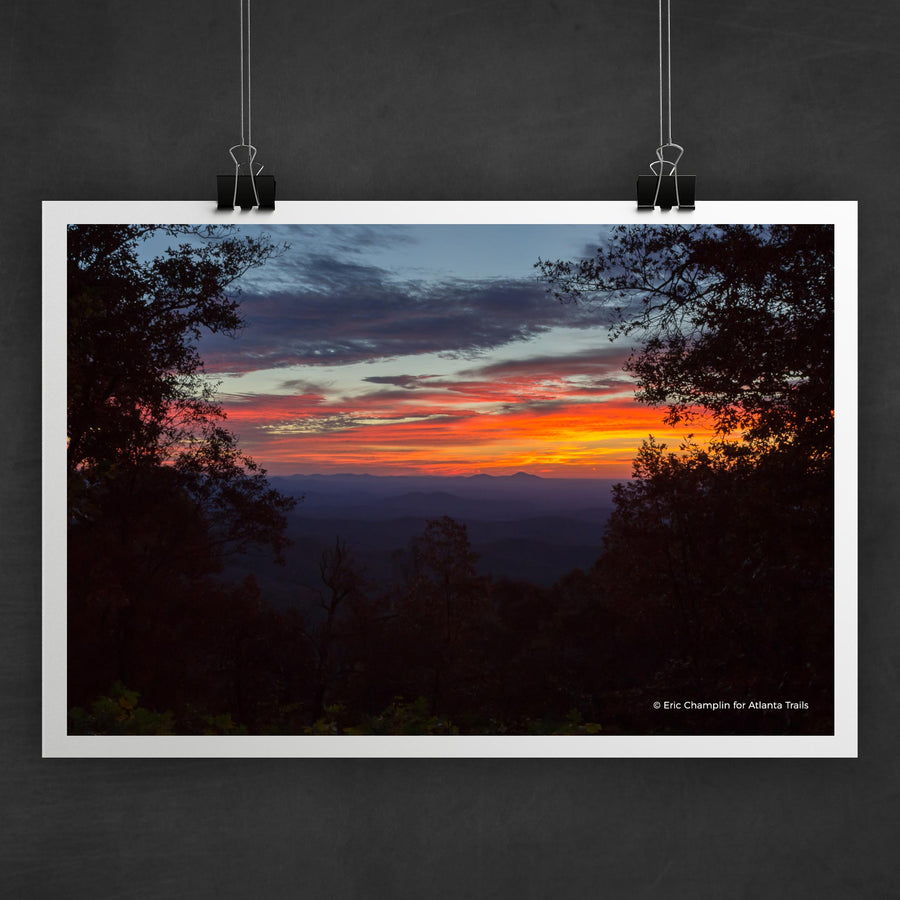 Len Foote Hike Inn Sunrise Photo Art Print