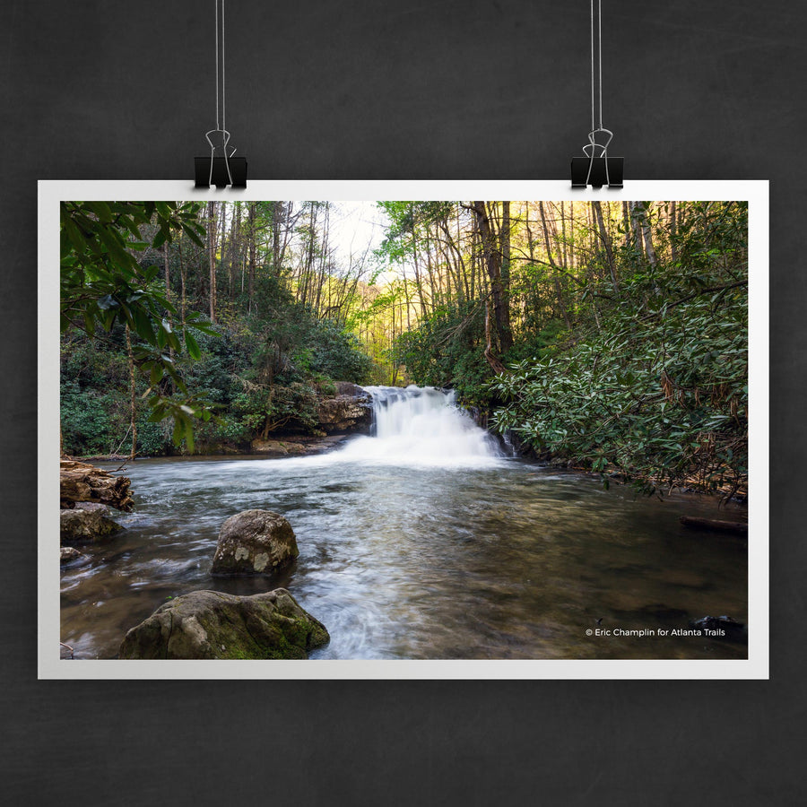 Hemlock Falls Photo Art Print